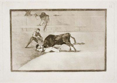 Goya - Tauromaquia 409