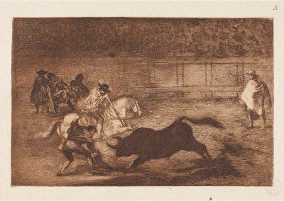 Goya - Tauromaquia 410