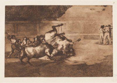 Goya - Tauromaquia 411
