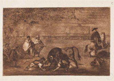 Goya - Tauromaquia 412