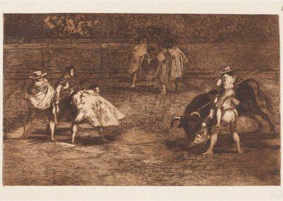 Goya - Tauromaquia 413