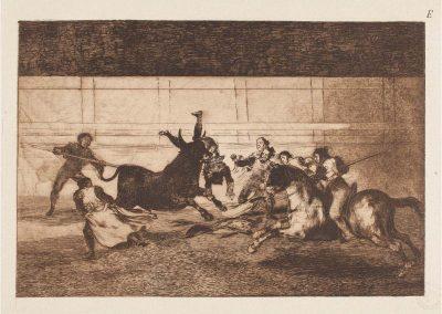 Goya - Tauromaquia 414