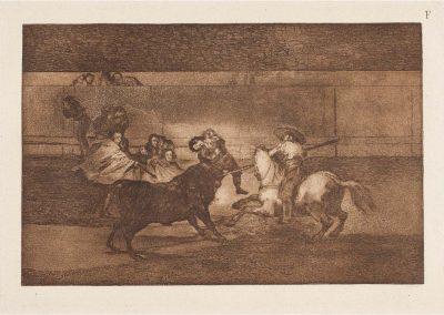 Goya - Tauromaquia 415