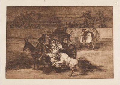 Goya - Tauromaquia 416