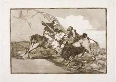 Goya - Tauromaquia 417
